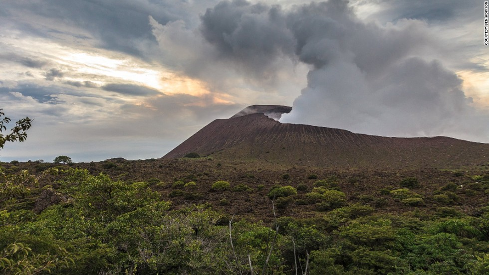 With just more than a million international visitors a year, Nicaragua remains relatively undiscovered. But visitor numbers have been trending upward in recent years, as travelers seek out adventure in colorful and beautiful Central America. <br />Freelance photographer Ben Adkison recently returned from Nicaragua with pictures of breathtaking attractions such as Telica volcano (3,481 feet/1,061 meters), one of nine active volcanoes in the country's section of the Ring of Fire. It's a short and rough drive from the town of Leon, making it one of the most accessible and safest places to view lava in the country.