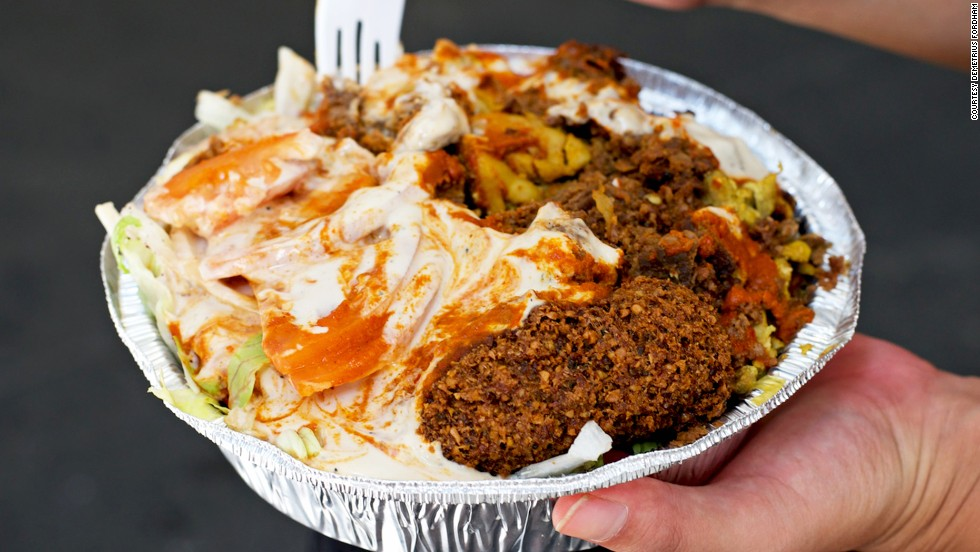 best street food in new york city from falafel to bagels