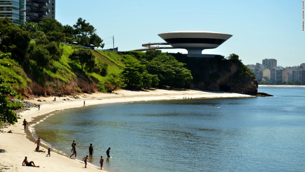 "One of Rio de Janeiro's icons, the <a href=""http://www.macniteroi.com.br/"" target=""_blank"">Niterói Contemporary Art Museum</a>, was designed by Oscar Niemeyer and structural engineer Bruno Contarini, taking inspiration from a flower."