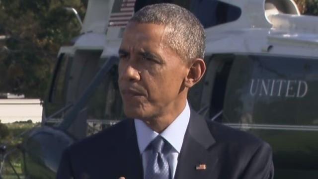 Obama: U.S. leading way against Ebola