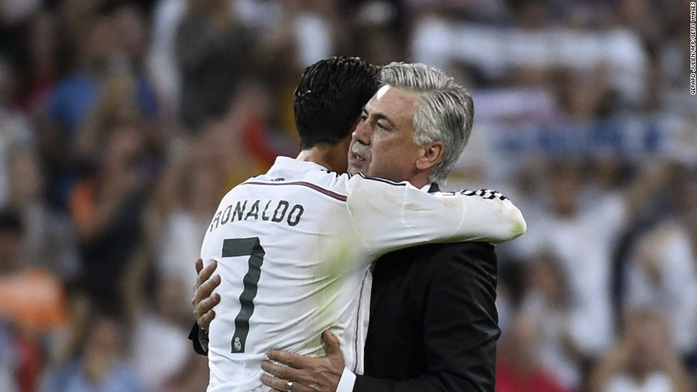"Ancelotti enjoyed a good relationship with Ronaldo when he was at Real, despite rumors of the Portuguese falling out with other coaches, most notably Jose Mourinho and Rafa Benitez. Ancelotti said: ""A lot of people ask me if it is difficult to manage top talent but it is really easy because they are so professional. Cristiano Ronaldo is so successful because he is really serious, really professional."""
