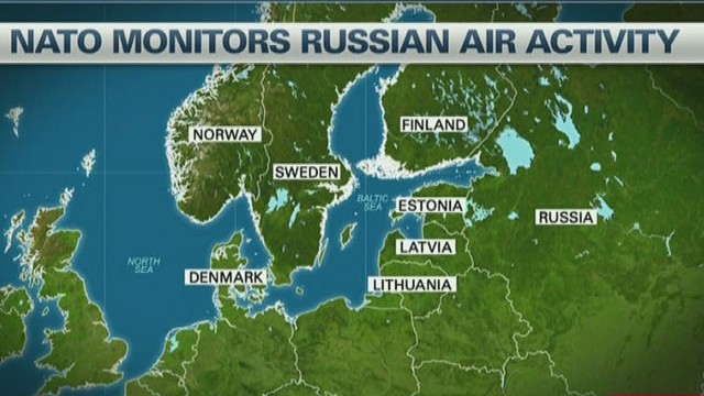 Unusual Russian flights concern NATO