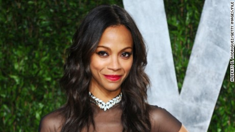 Actress Zoe Saldana is careful with her health.