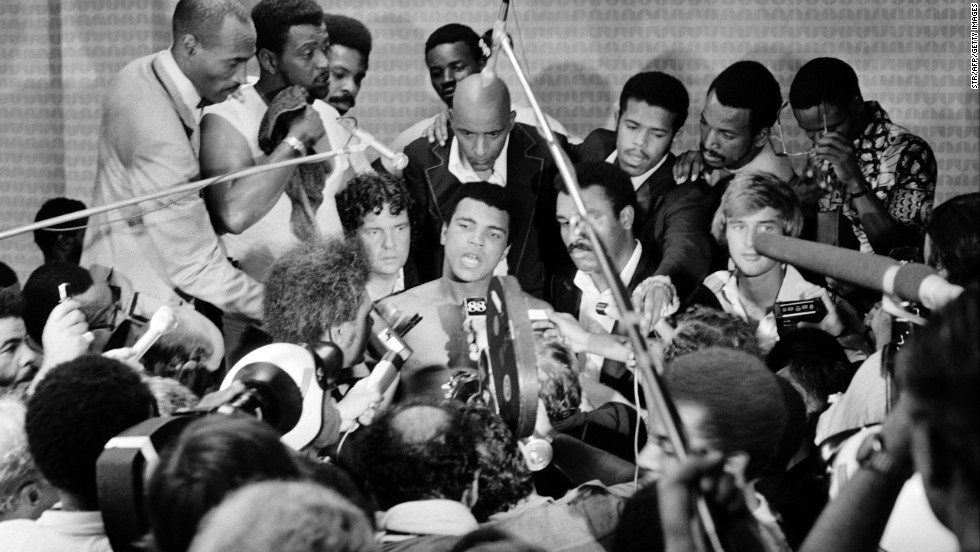 "In the aftermath of the ""Rumble in the Jungle,"" Ali named his price for his next fight. ""I'm going to haunt boxing for the next six months,"" he was reported to have said by the Daily Mail. ""I'll talk to the man who first offers me $10 million."" A hefty price tag, even for the man dubbed by many, not least himself, as ""The Greatest."""