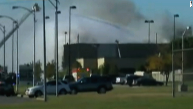 Plane crash at Kansas airport