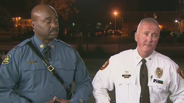 Police: We expect the best from Ferguson