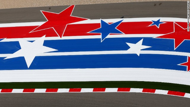 A general view of the track during previews ahead of the United States Formula One Grand Prix at Circuit of The Americas on October 30, 2014 in Austin, United States. (Photo by Clive Mason/Getty Images)