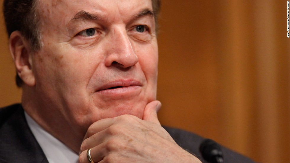 Sen. Richard Shelby will become the chairman of the Banking, Housing and Urban Affairs Committee, a position he held from 2003 to 2007. He is a critic of the Dodd-Frank Act.