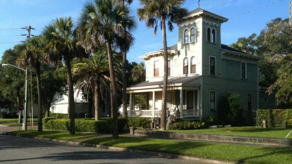 "The homes along Sixth Street in downtown Fernandina Beach, part of Amelia Island, are ""Old Florida"" perfection."