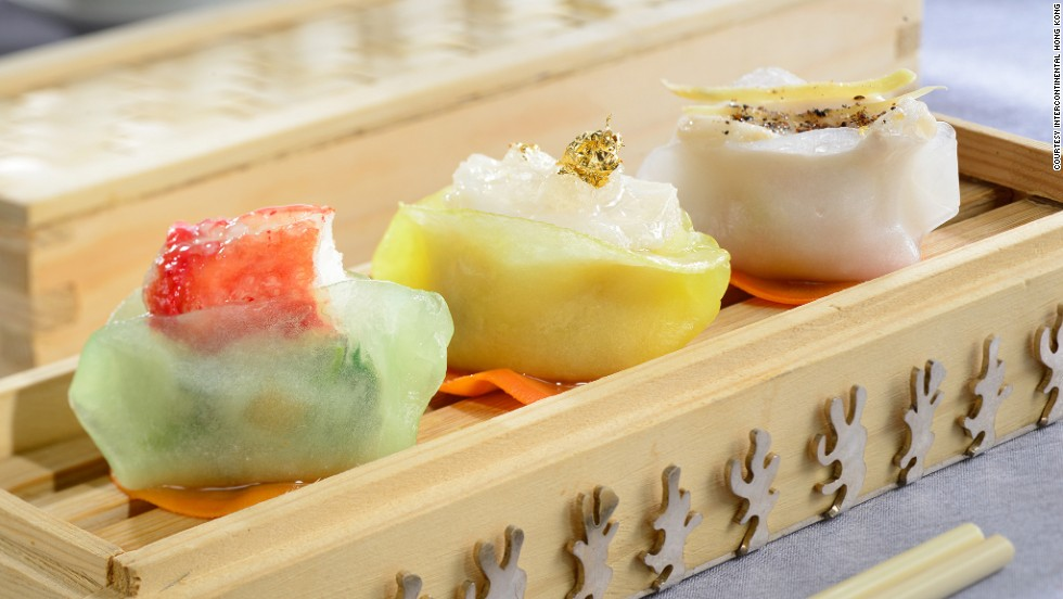 If you're looking for a first dim sum experience, few rival InterContinental Hong Kong's Yan Toh Heen. This is its signature dumpling trio.