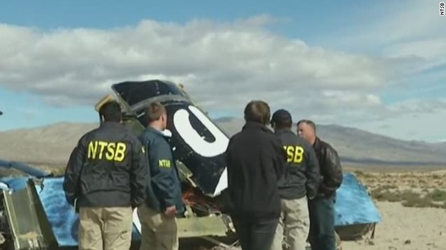 NTSB releases more info on Virgin crash