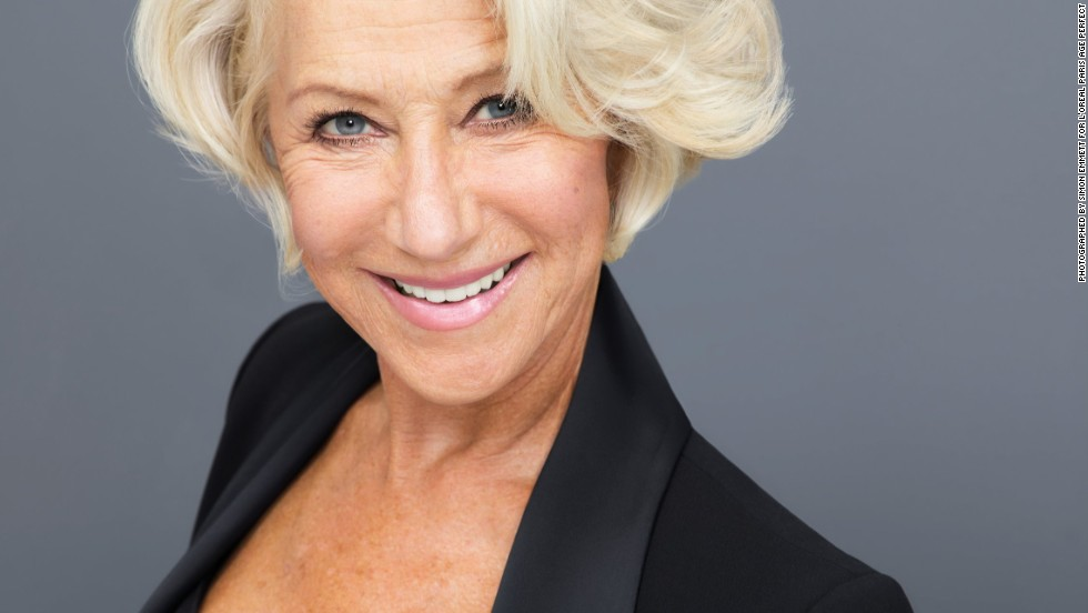69-year-old Helen Mirren is one of the UK ambassador for L'Oreal Paris, and she is not the only older woman still modeling.