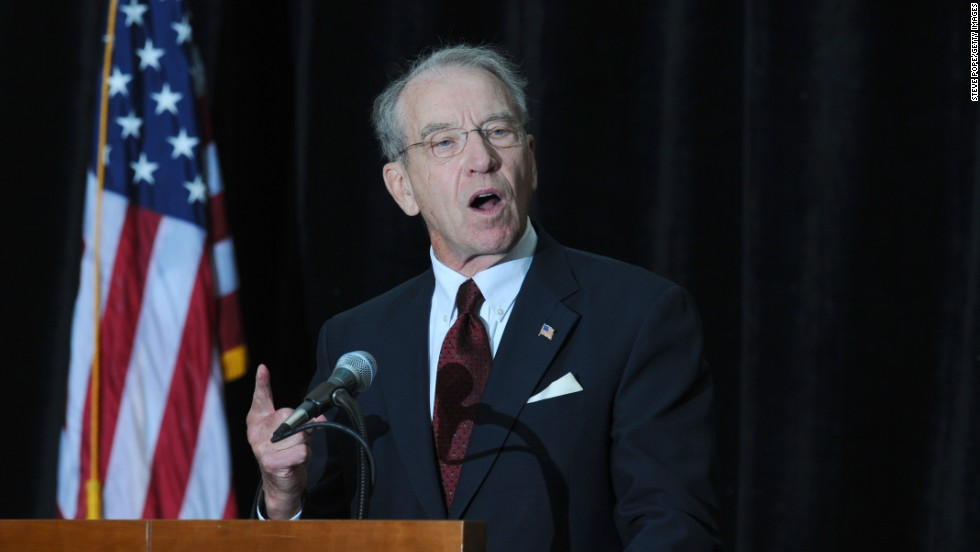 Sen. Chuck Grassley will become the next chairman of the Judiciary Committee. If Obama waits until next year to nominate a new attorney general, Grassley would play a key role in the confirmation process.