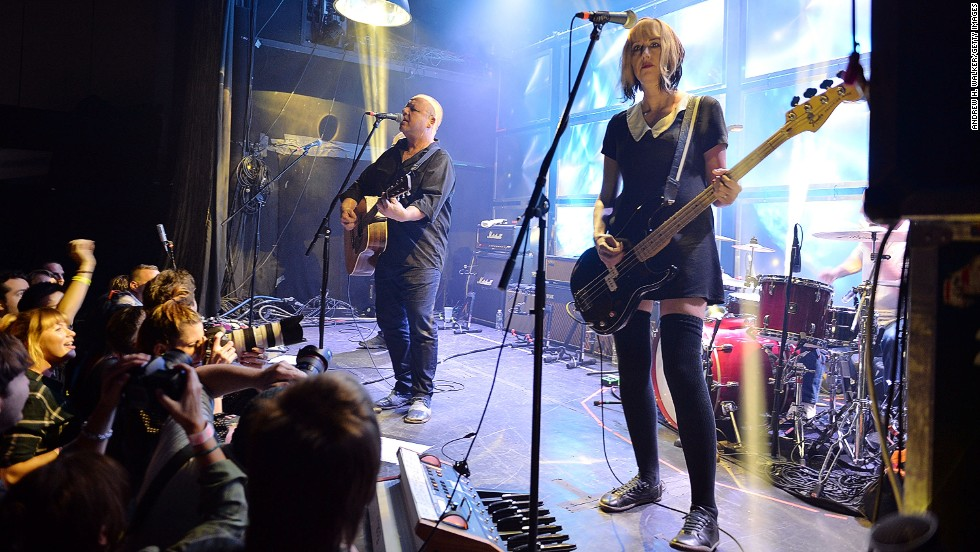Bands like the Pixies rock the small Bowery Ballroom, a sought-after notch in the guitar strap for bands around the world.