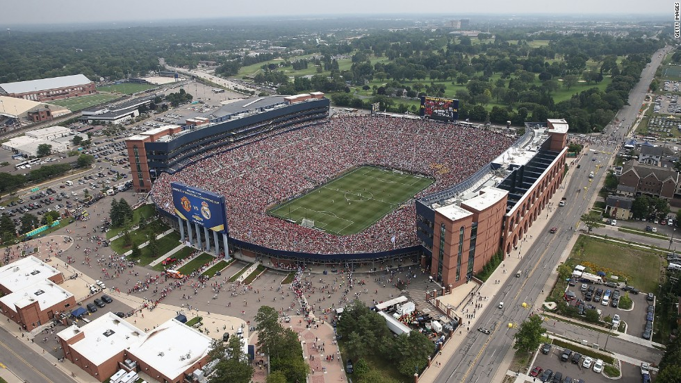 Soccer's English Premier League is also seeking to sell its product abroad, spurred by recent successes such as an exhibition match between Manchester United and Real Madrid in Michigan that drew a record attendance of 109,318.