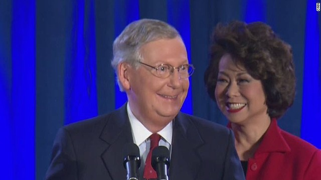 McConnell: 'I will not let you down'