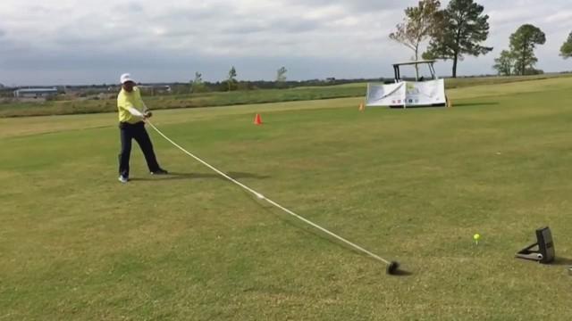 cnnee longest golf club guinness record_00000109.jpg