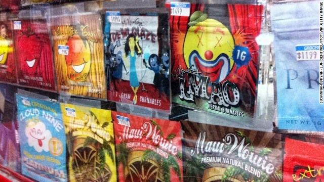 Police and legislators are starting to crack down on synthetic marijuana.