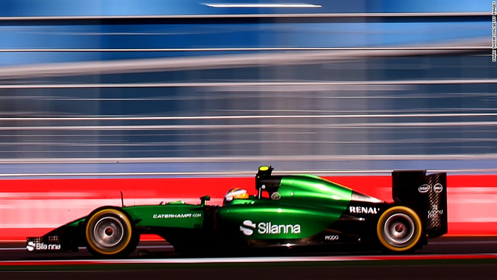 Caterham finished bottom of the constructors' championship in 2013 and are struggling again this season. The team joined F1 in 2010, but has never won a point.