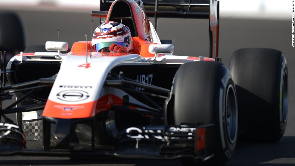Marussia's Max Chilton was another driver sidelined in Austin last weekend.