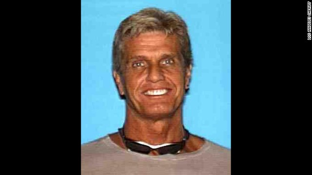 "Los Angeles County Sheriffís Department Is Seeking The Publicís Assistance In Locating A Missing Person  Gavin Smith:6' 06"", 210 lbs., grey hair with blonde highlights, green eyes, has a goatee. Last seen wearing purple pants, and black and grey shoes."