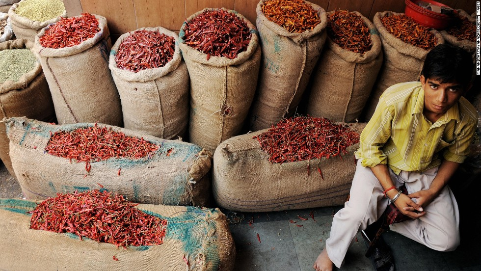 In the olfactory safari that is India, spices at places such as New Delhi's Khari Baoli, the largest spice market in Asia, demand to be remembered.