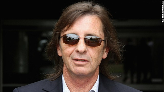 Phil Rudd, pictured here in December 2010, is accused of having attempted to procure the murders of two men.