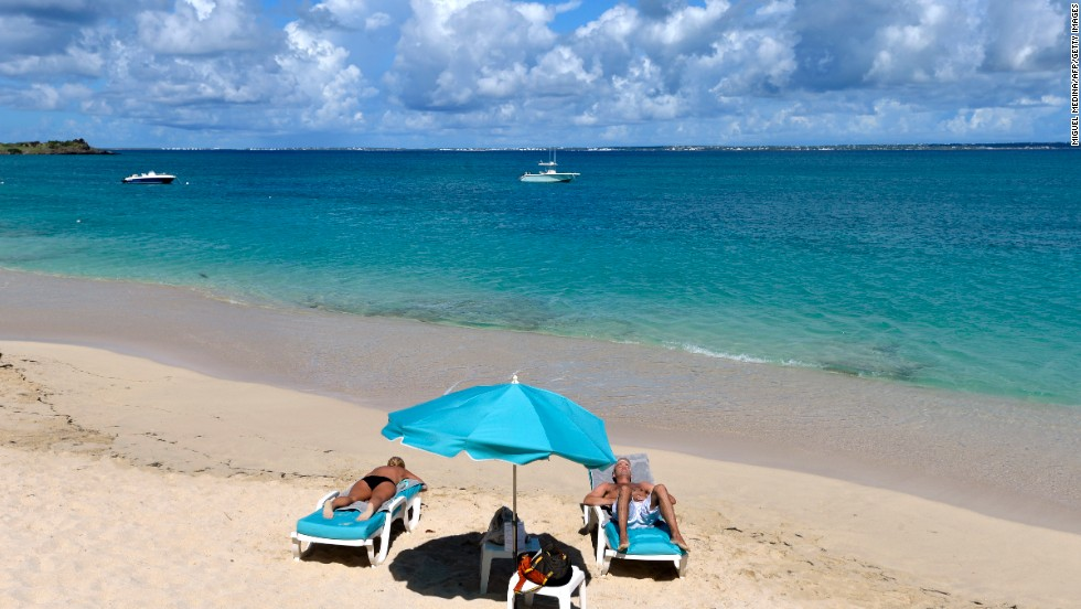 "You don't need to be a ""Seinfeld"" fan to understand the heady aroma of ""the beach."" If only we could bottle this stuff! This beach in St. Martin on the Island of Guadeloupe stands in well for the entire Caribbean."