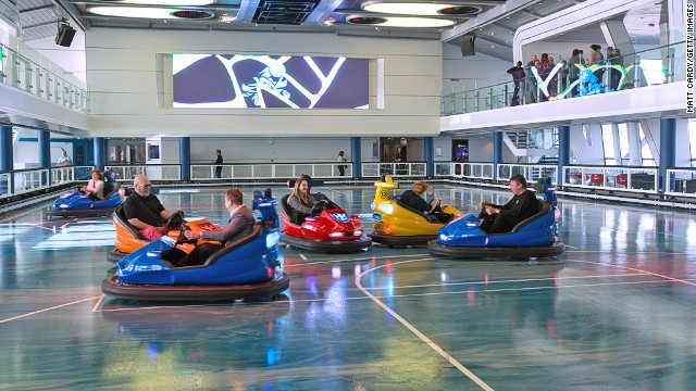 If rough seas don't rattle you, the bumper cars surely will.