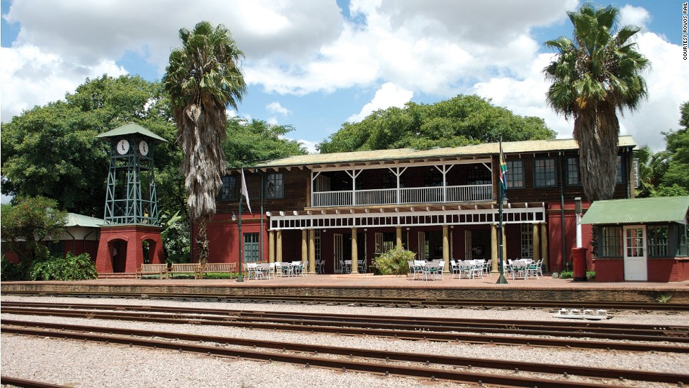 Many of the train safaris begin from the Rovos Rail station in Pretoria, a luxury venue in its own right.