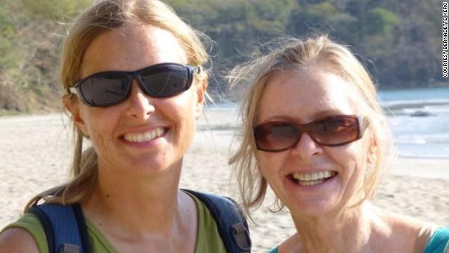 Addison and her mom, Bernadette Kero, are seen in Costa Rica in June.
