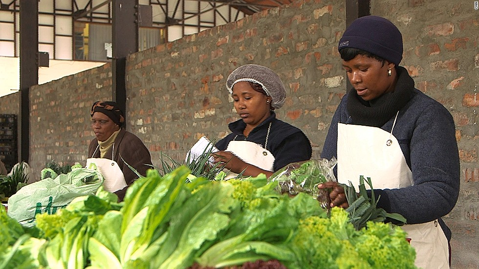 Urban farms have become a growing trend in Cape Town. People set up farms in parking lots, grow them out of toilets and even old TV sets.