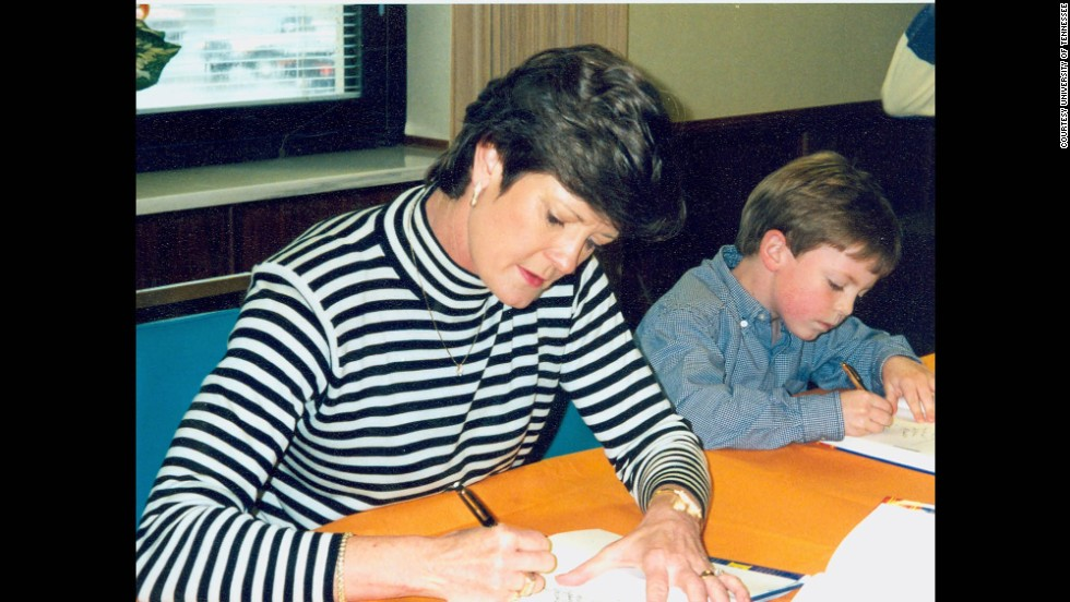 Pat Summitt included Tyler in everything, from practices to road trips to autograph sessions.
