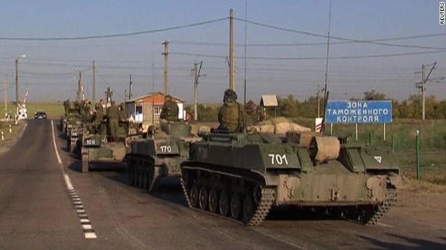 Ukraine: Russian tanks crossed border