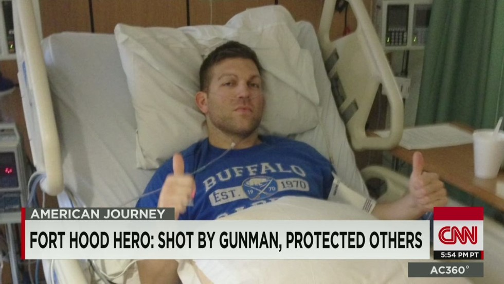 American Journey: Ft. Hood shooting hero