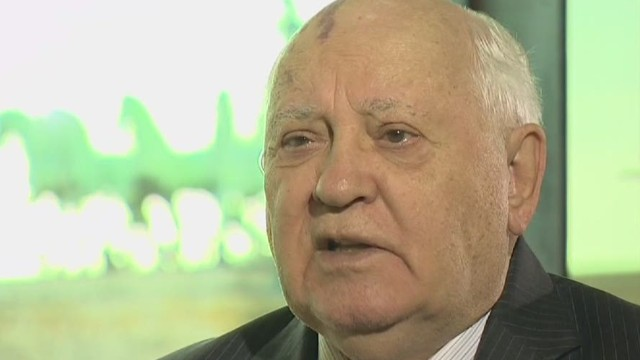 Gorbachev on Berlin Wall anniversary