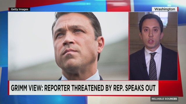 Reporter threatened by Rep. Grimm reacts