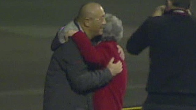 Americans freed by N. Korea back in U.S.