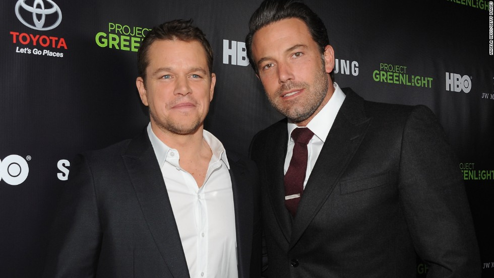 "Matt Damon and Ben Affleck are the poster boys of bromance. In fact, when Affleck was cast as Batman, there were jokes about <a href=""http://marquee.blogs.cnn.com/2013/08/28/matt-damon-is-not-playing-robin-to-ben-afflecks-batman/"">Damon playing Robin</a>. After their Oscar-winning script for ""Good Will Hunting,"" the pair continued to work together in movies like ""Dogma."" Now they have teamed up again for Syfy thriller ""Incorporated."" See more of our favorite male besties ..."