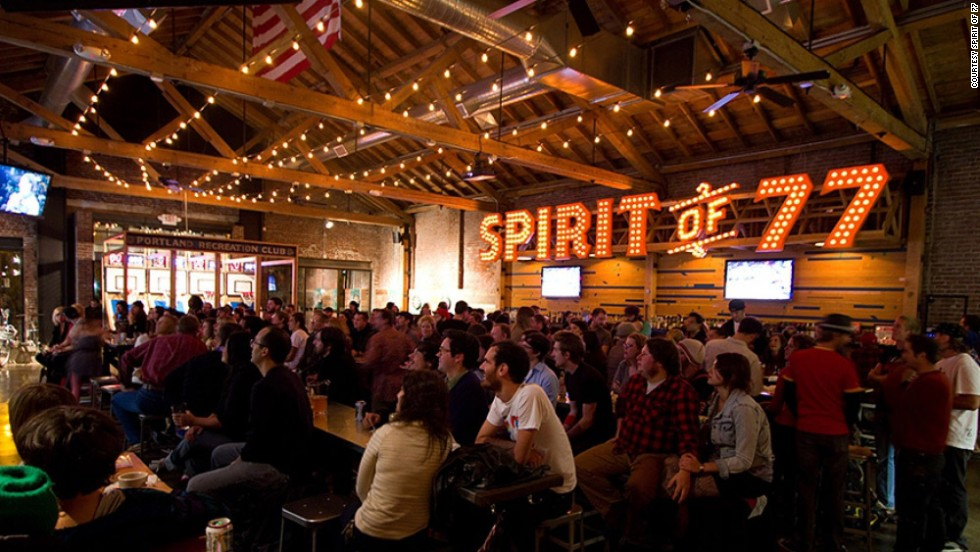 "<a href=""http://www.spiritof77bar.com/"" target=""_blank""><strong>Spirit of 77<strong></a></strong>: Portland, Oregon</strong>"