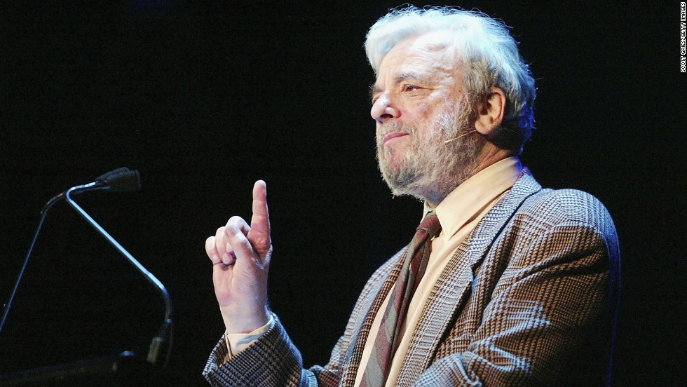 "Through his work as a composer and songwriter, Stephen Sondheim has given us the gift of musicals like ""Company,"" ""Follies"" and ""Sweeney Todd."" His musical ""Into the Woods"" has been adapted into a movie starring Meryl Streep and is set to open on December 25."