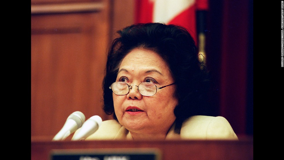 The late Patsy T. Mink was a barrier-breaking politician who hailed from Hawaii. She was the first Japanese-American female attorney in Hawaii and went on to become the first woman of color to be elected to Congress. When she got there, she co-authored and helped push through Title IX of the Education Amendments of 1972, which called for gender equality in every educational program that receives federal funding.