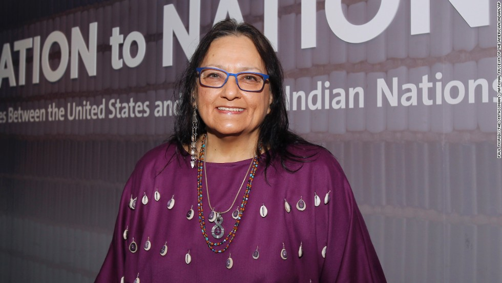 Suzan Harjo wears a lot of hats: She's a writer, curator and activist for Native American causes. Through those aspects of her career, Harjo has done some impressive work, including helping pass the Native American Graves Protection and Repatriation Act and the American Indian Religious Freedom Act. She's now president of the Morning Star Institute, a Native rights organization.