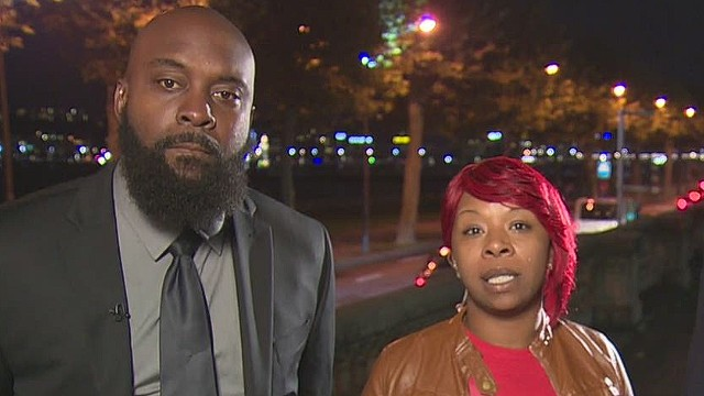 Michael Brown's parents plead for peace