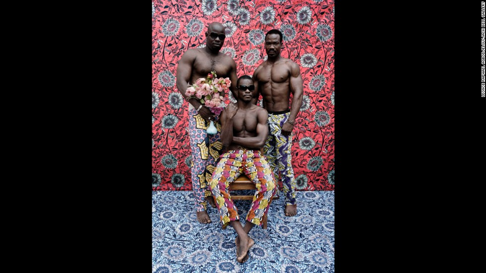Photographer Leonce Raphael Agbodjelou took portraits of west African bodybuilders.