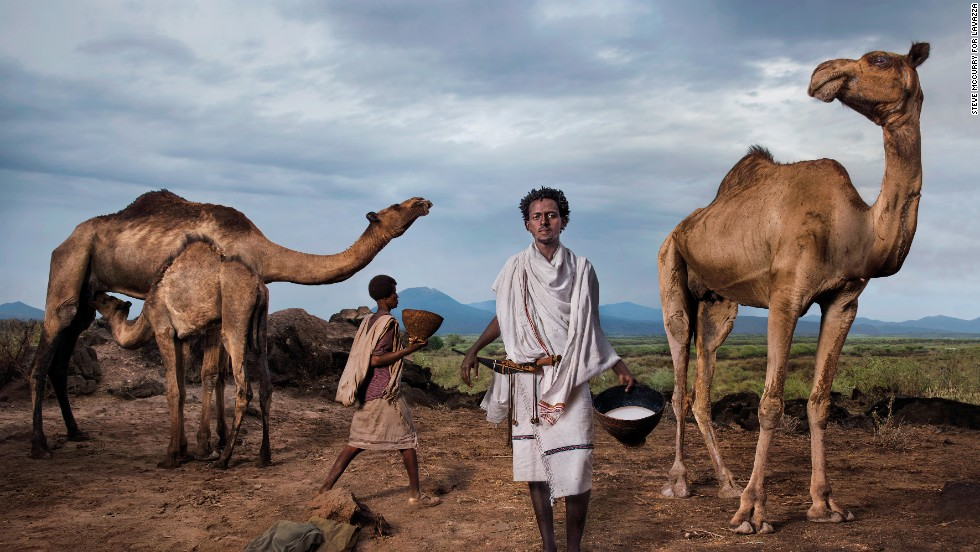 "Roba Bulga Jilo is an Ethiopian food activist from the Karrayyu tribe. Camels are an integral part of the nomadic clan, so Jilo works with Slow Food to ensure camel milk is promoted to the wider community in a sustainable manner. <br /><br />""My dream for Africa is that Africans themselves can decide the country's destiny,"" he says."