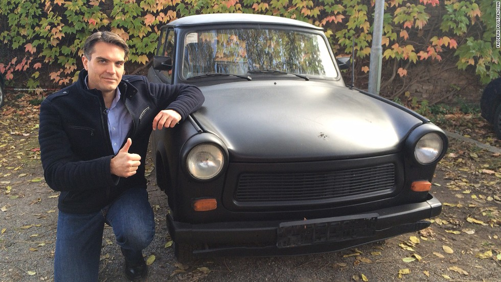 Trabant Little Car S Big Role In Fall Of Berlin Wall Cnn