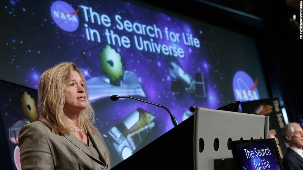 """It's part of the human character to want to know what's over the next hill, to want to know what's beyond,"" said Stofan (pictured). ""It's that curiosity and desire to find out. NASA and other space agencies around the world enable that."""