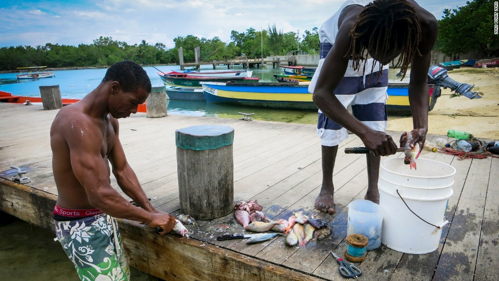 """So many places I look -- even in America, we see a transition to a service economy. Like the Jamaican fishermen we talked to, moving away from the things we once did,"" <a href=""http://www.cnn.com/2014/12/10/travel/jamaica-parts-unknown-season-4-episode-8/"">Bourdain said</a> after spending time in Jamaica."