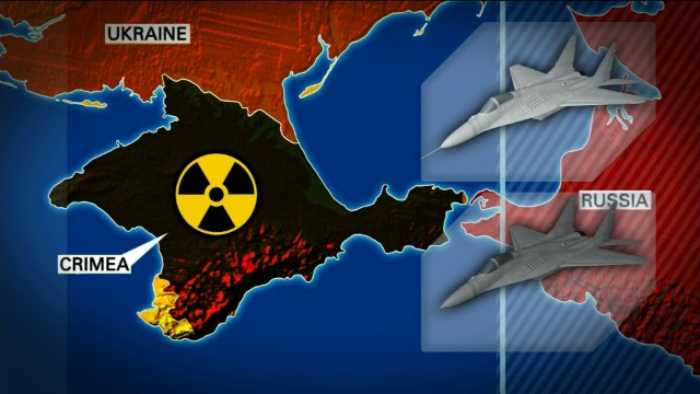 Is Putin moving nukes in Crimea?
